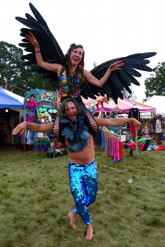 black angel wings playgroup festival