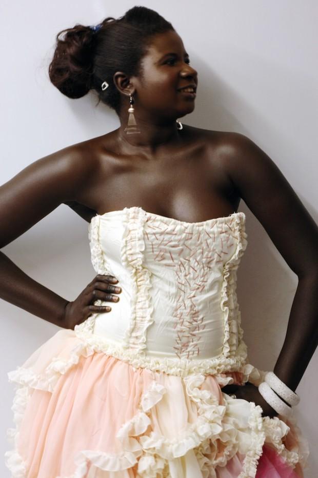 custom made corset fairy dress