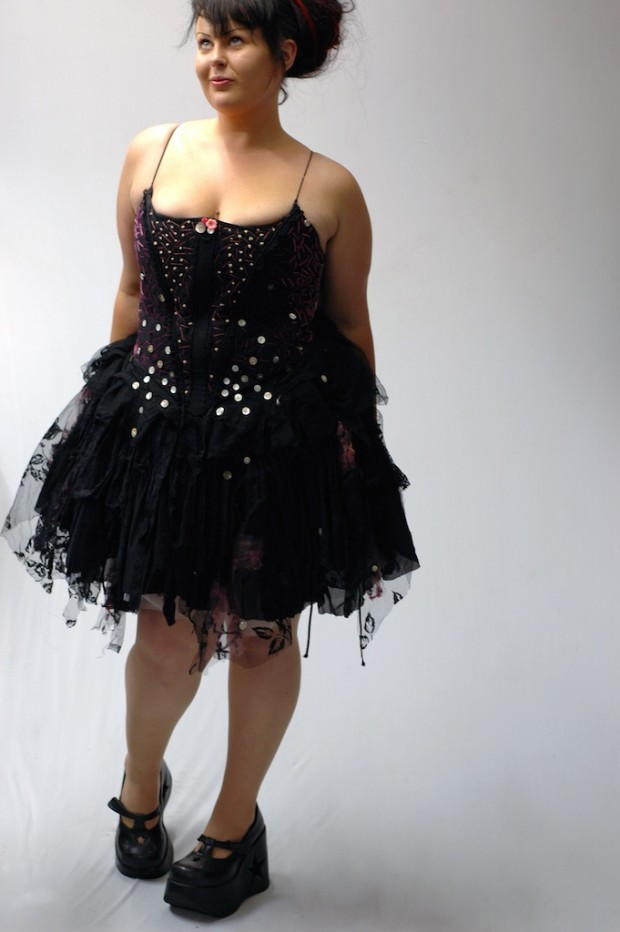 custom made corset fairy dress