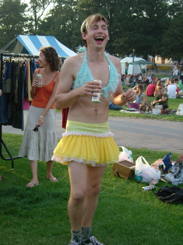 yellow tutu frilly pants shorts