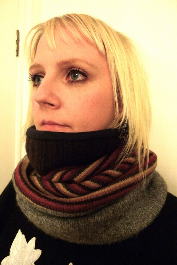 cashmere wool snood