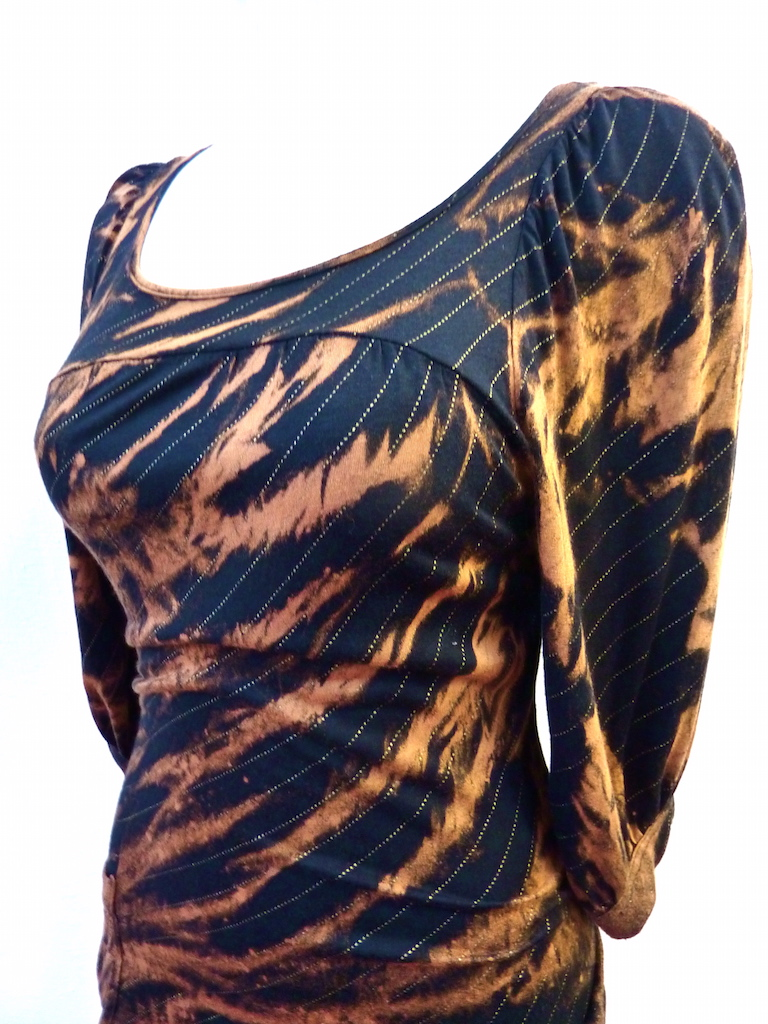 bleach dye dress