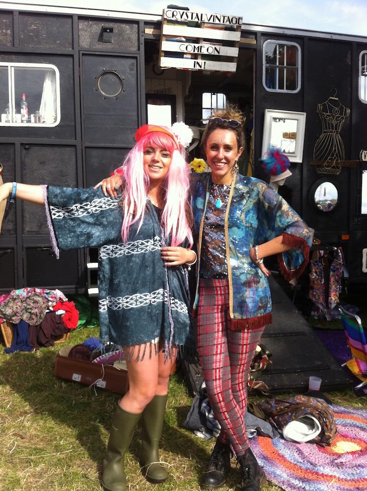 kimonos at shambala festival
