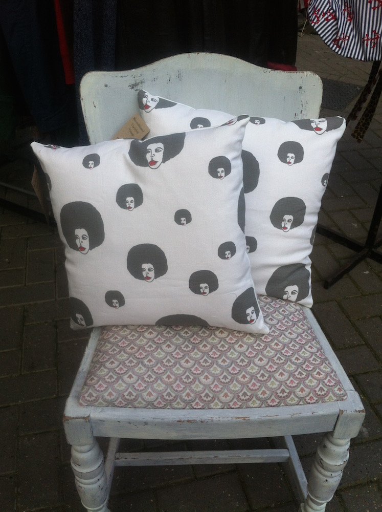 afrohead scatter cushion