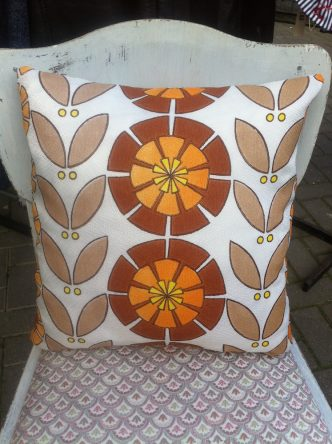 1960s scatter cushion