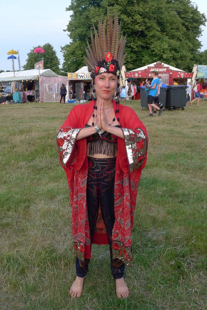 luxury red kimono hand beaded remade sari