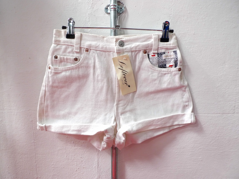 customised denim shorts