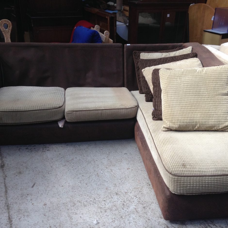 brown corner sofa shabitat