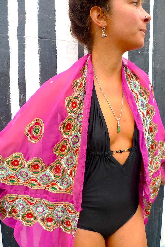 one off beach kimono