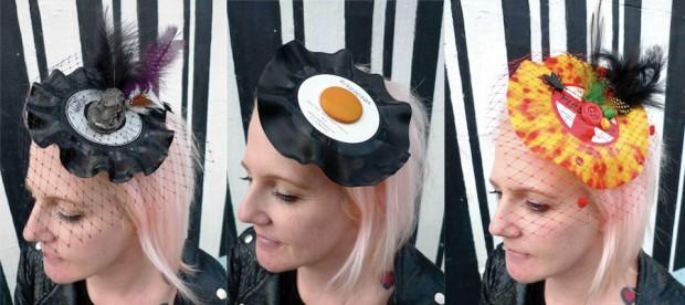 7 inch egg fascinator