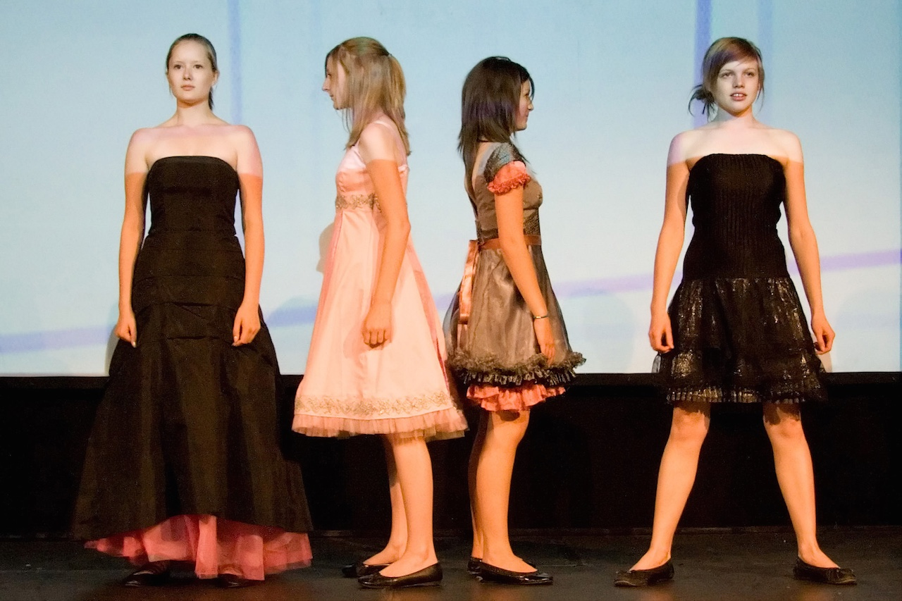 eco fashion show dresses
