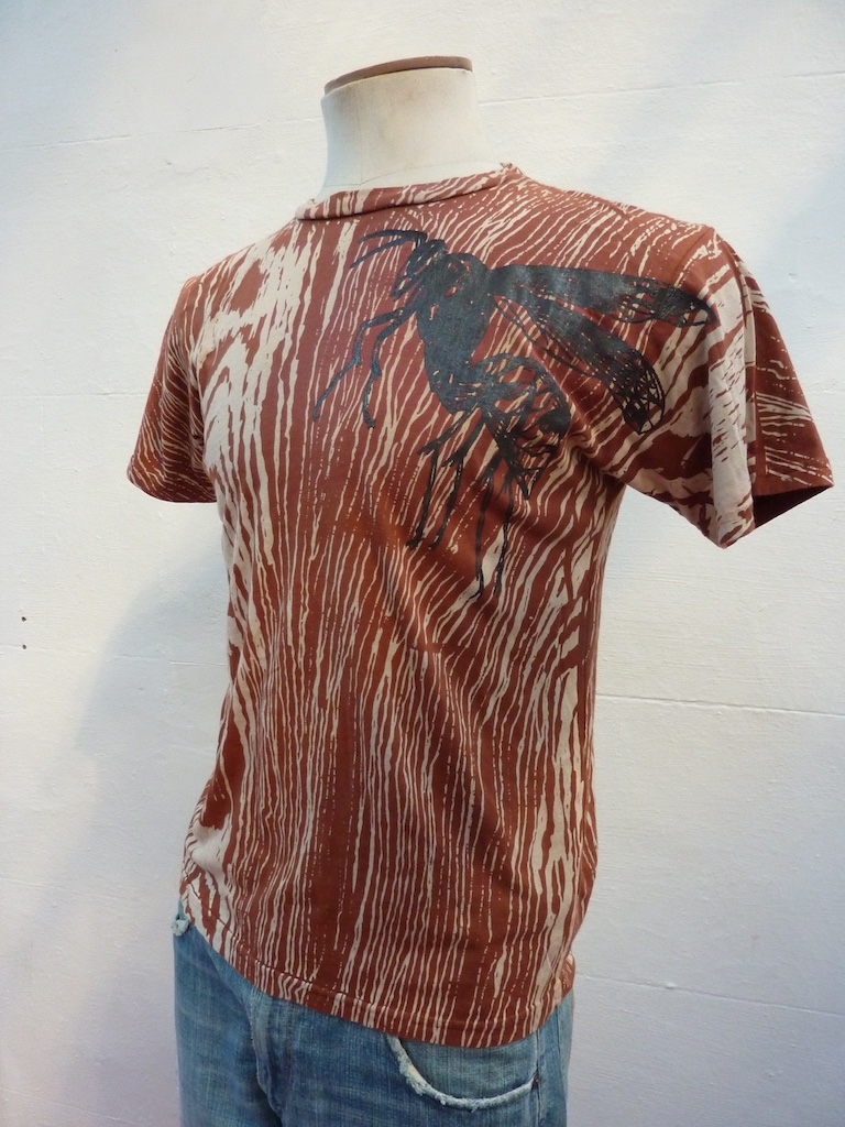 Screen Printing and Bleach Dyeing