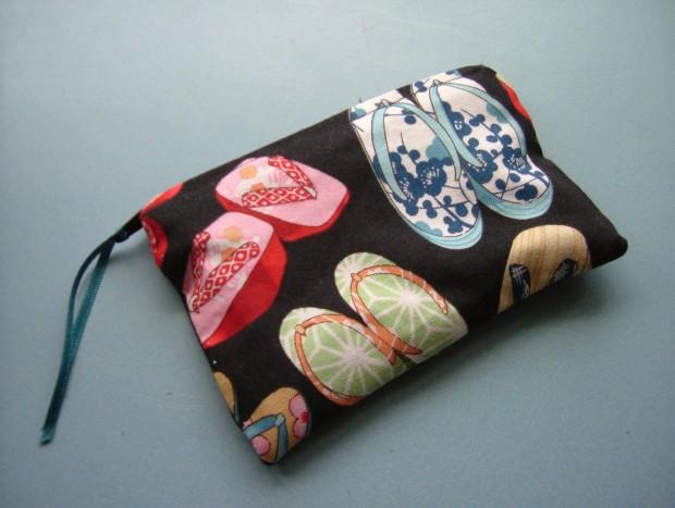 japanese print purse