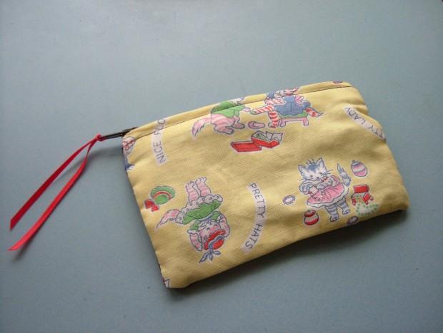 1950's print purse