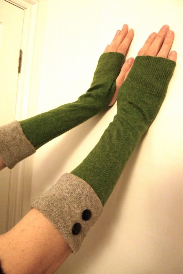 cashmere wool wrist warmer