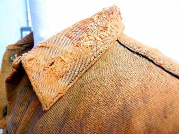 customised denim vest