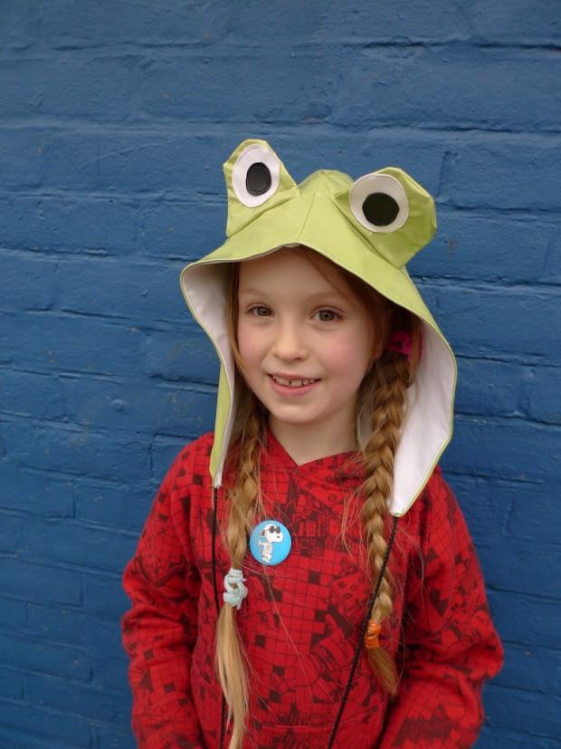 oilcloth frog hood waterproof