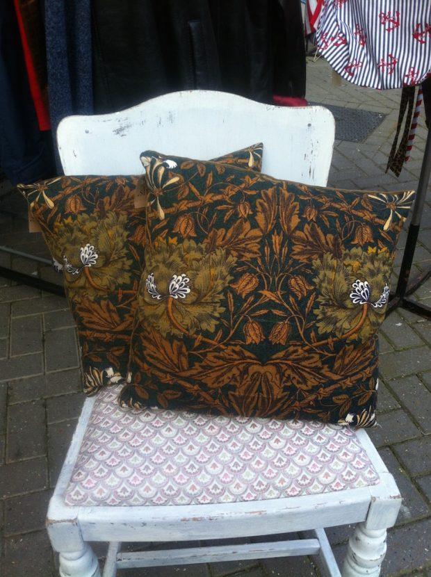 william morris scatter cushion