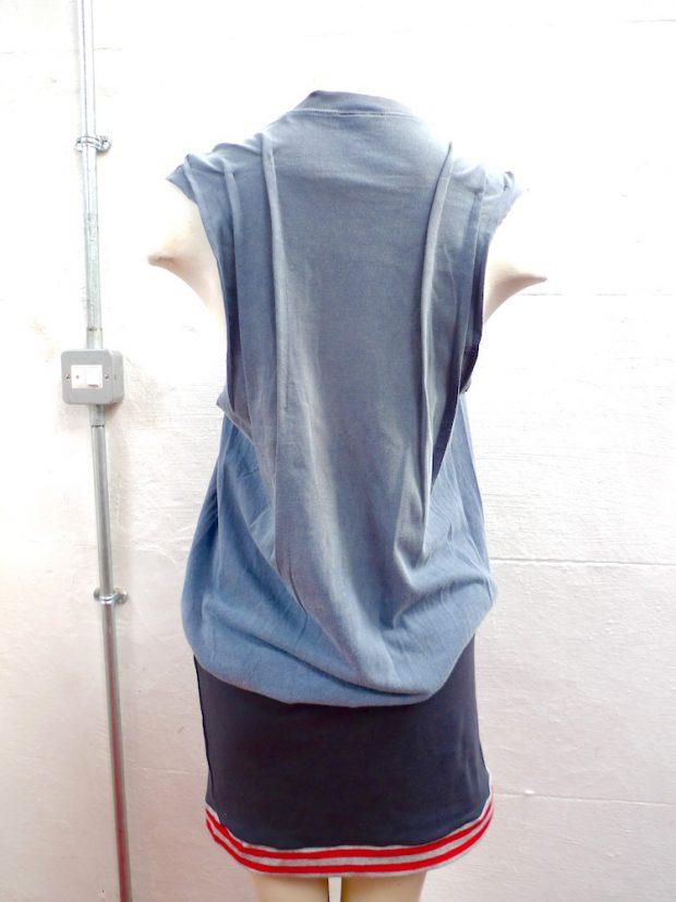 remade tshirt dress