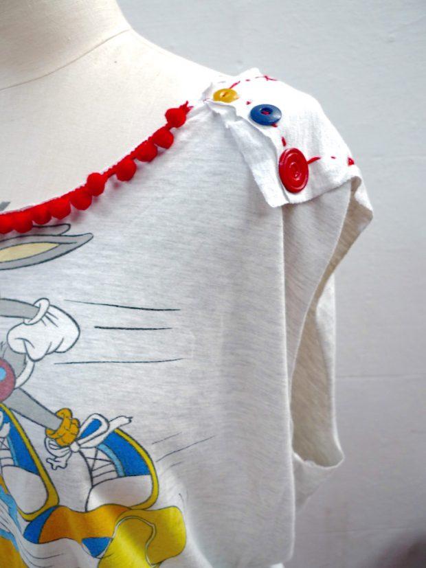 tshirt dress upcycled
