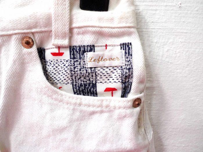 customised denim shorts