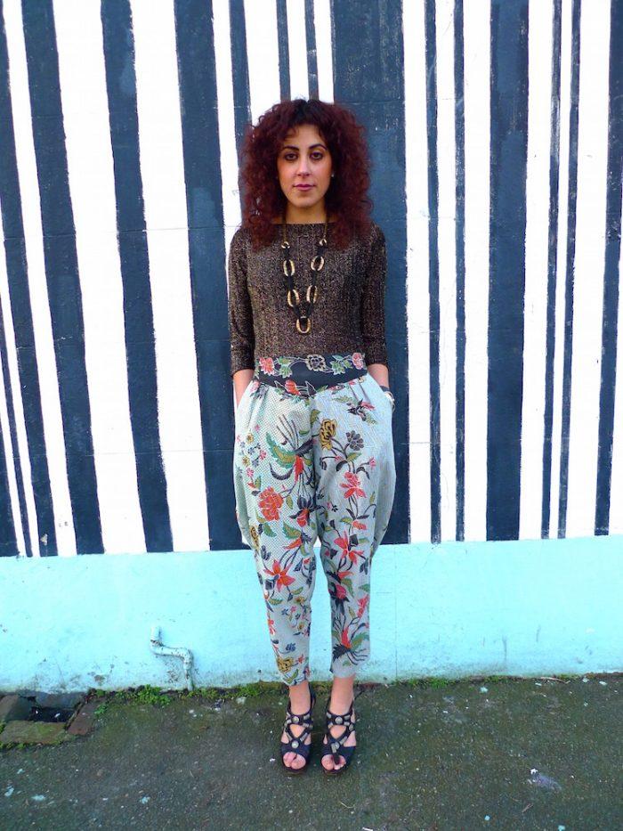 eco frirendly sustainable cotton trousers slacks pants