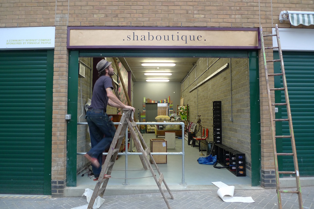 Shaboutique- A shop dedicated to all thing beautifully upcycled.