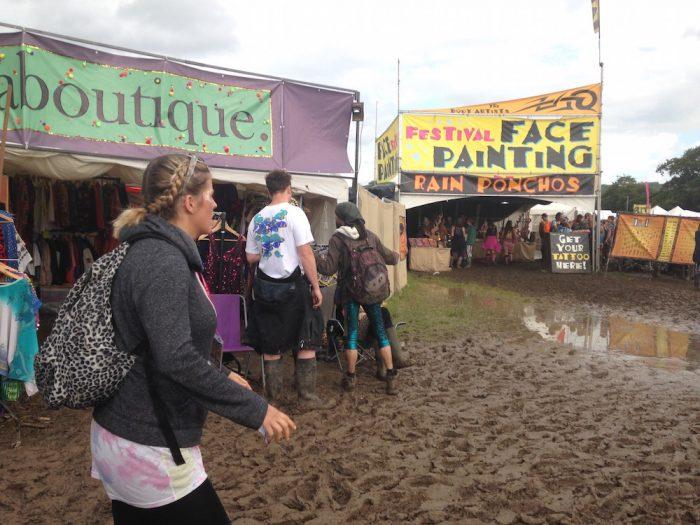 glastonbury mud fest