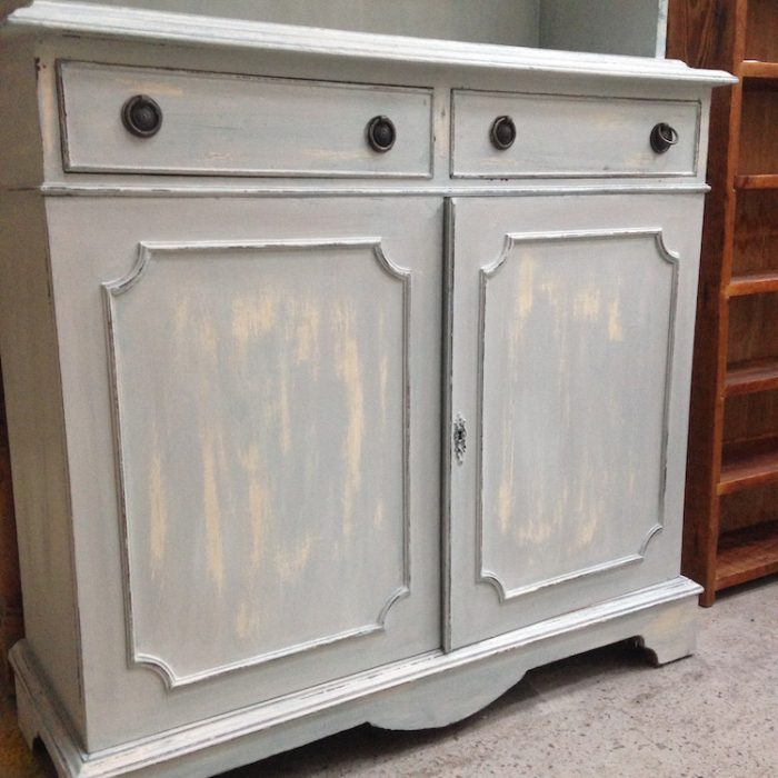 distressed welsh dresser