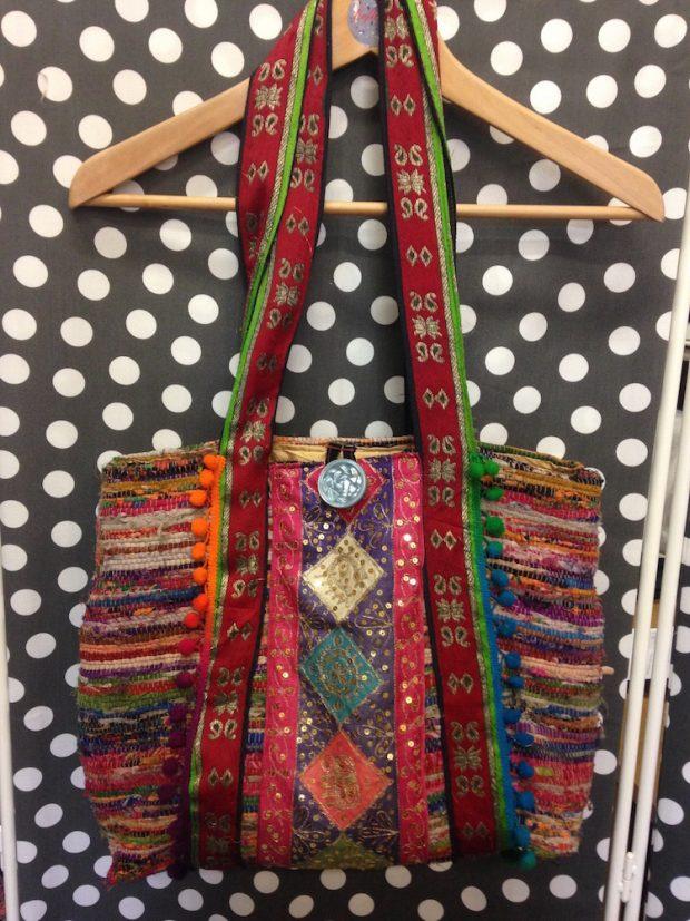 rag rug handbag