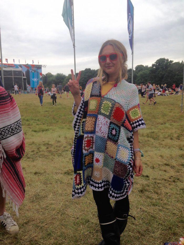 grandma crocket blanket dress