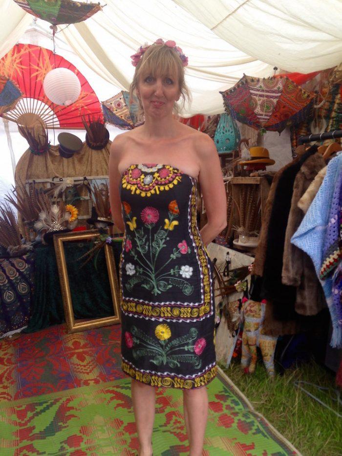 embroidery dress latitude