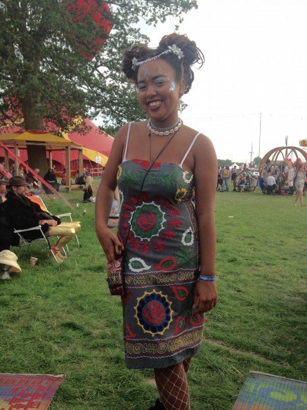 embroidery strapless dress shambala